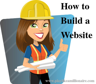 If you have a home business, you have to know how to build a website to support it.